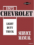1973 Chevy Truck Chassis Service Manual