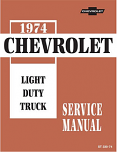 1974 Chevy Truck Chassis Service Manual