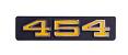 "1973-74 Chevy Truck Front Grille Emblem, ""454"""