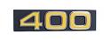 "1975 Chevy Truck Front Grille Emblem, ""400"""
