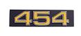 "1975 Chevy Truck Front Grille Emblem, ""454"""