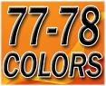 1977-78 Fullsize Chevy & GMC Truck Interior Vinyl & Plastic Dye Original Colors