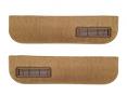 1977-78 Fullsize Chevy & GMC Truck Lower Door Panel Carpet Original Colors