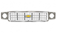 1977-78 Chevy Truck Grille Kit, Silver
