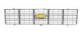 1977-79 Fullsize Chevy Truck Front Grille w/Foil Bowtie Emblem, Factory Style, Argent Gray