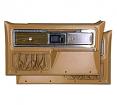 1977-80 Fullsize Chevy & GMC Truck Complete Silverado Door Panel Kit, Woodgrain Inserts