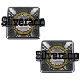 1980-1988 Chevrolet Blazer Rear Quarter Panel Emblems