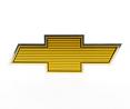1980 Fullsize Chevy Truck, Blazer & Suburban Foil Gold Bowtie Emblem For Stock Grille