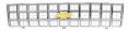 1980 Fullsize Chevy Truck Front Grille w/Foil Bowtie Emblem, Factory Style, Chrome