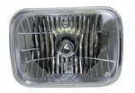 1980 Fullsize Chevy & GMC Truck Custom Clear Rectangular Single Headlight