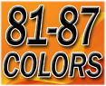 1981-87 Fullsize Chevy & GMC Truck Interior Vinyl and Plastic Dye Original Colors