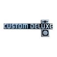 1981-87 Fullsize Chevy Truck Custom Deluxe Dash Emblem