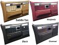 1981-87 Fullsize Chevy Truck Silverado Door Panels Original Colors