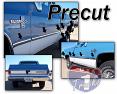 1981-87 Fullsize Chevy & GMC Truck Fleetside Chrome Precut Body Side Molding Set, Shortbed