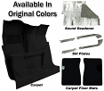 1981-87 Fullsize Chevy & GMC Truck Carpet & Accessories Kit Standard Cab