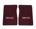 1981-87 Fullsize GMC Truck Carpet Floor Mats with GMC Logo