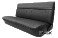 1981-91 Fullsize Chevy & GMC Crew Cab Truck Front Vinyl Bench Seat Cover with Horizontal Band