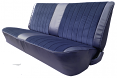 1981-91 Fullsize Chevy & GMC Crew Cab Truck Front Vinyl & Cloth Bench Seat Cover without Horizontal Band