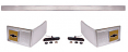 1981-87 Fullsize Chevy Truck Back Cab Molding Kit, with Bowtie Emblems