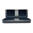 1981-87 Fullsize Chevy & GMC Truck Front Vinyl & Cloth Bench Seat Cover without horizontal band