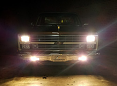 1981-87 Fullsize Chevy & GMC Truck Custom Front Bumper with Fog Lights