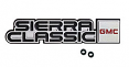 1981-87 GMC Truck Sierra Classic Dash Emblem