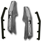 1981-87 Fullsize Chevy & GMC Truck Front Bumper Guard Kit