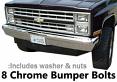 1981-87 Fullsize Chevy & GMC Truck Front Bumper Bolt Kit