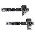 1981-87 Fullsize Chevy Custom Deluxe Fender Emblem 10