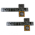 1981-87 Chevy Scottsdale Fender Emblem 10