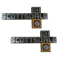 1981-87 Chevy Scottsdale Fender Emblem 10