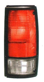 1982-93 Chevy S10 & GMC Sonoma Truck Tail Light Assembly w/ Black Trim, Right