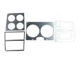 1978-80 Fullsize Chevy & GMC Truck Instrument Panel Aluminum Trim with AC