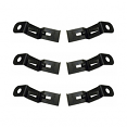 1973-87 Chevy & GMC Fullsize Truck Dash Pad Mounting Clip Kit (set of 6)