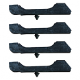1973-80 Fullsize Chevy & GMC Truck 2 Core Radiator Cushion, Set of 4