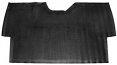 1955-59 Chevy & GMC Truck OE Style Rubber Floor Mat, ALL