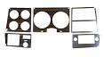 1978-80 Fullsize Chevy & GMC Truck Instrument Panel Woodgrain Insert with AC