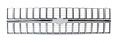1981-82 Fullsize Chevy Truck Chrome Front Grille, Factory Style