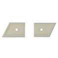 1985-87 Chevy Truck Grille Emblem Spacers
