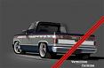 1981-87 Chevy & GMC Truck 2-Tone Paint Break Stripe Kit, Vermillion/Dark Carmine