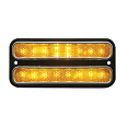 1968-72 Chevy & GMC Front Amber LED Side Marker Light Lens with Trim