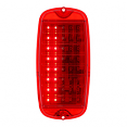 1960-66 Chevy & GMC Fleetside Truck LED Tail Light Lens with Sequential Turn Signal