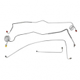 1973-80 Chevy & GMC Truck Front Brake Line Set, Manual Disc Brakes, 2wd, 1/2 Ton
