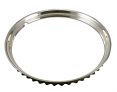 1947-80 Chevy & GMC Truck Wheel Trim Ring, Ribbed, Stainless, Each