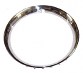 "1947-80 Chevy & GMC Truck Wheel Trim Ring, Smooth Convex, Stainless, 15"", Each"