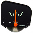 1964-66 Chevy Truck Amp/Battery Gauge (fits factory gauge dash only)
