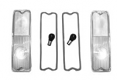 1967-72 Chevy & GMC Truck Clear tail Light Conversion kit