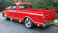 1967-68 Chevy & GMC Truck Fleetside Body Side Molding Kit With Clips, Short Bed