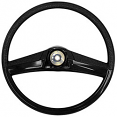 1969-72 Chevy & GMC Truck Stock Black Steering Wheel, Small 15""