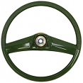 1969-72 Chevy & GMC Truck Stock Green Steering Wheel, Small 15""